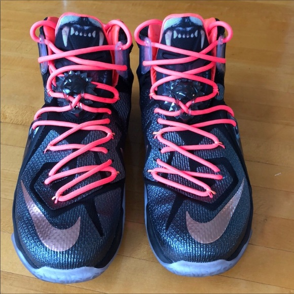 new product a704a 46bc4 Nike LeBron 12 Elite Rose Gold Special Edition. M 5c9f8074b146cc3c38f71901